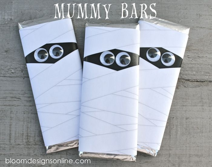 Mummy Bars with Free Printable | Bloom Designs Online