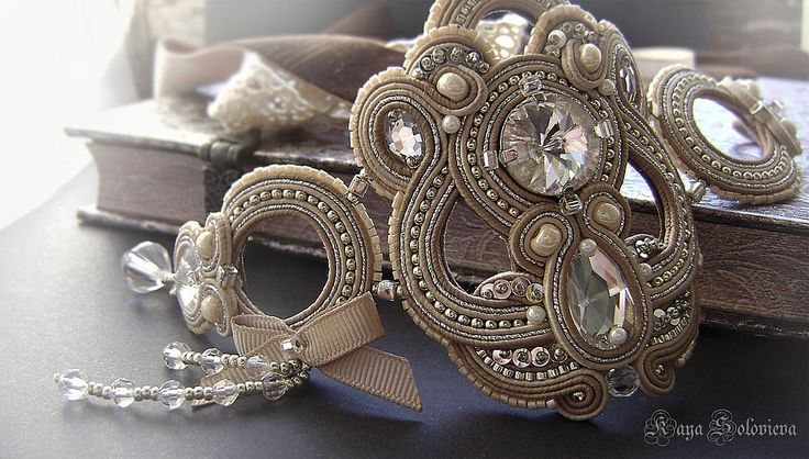 cashmere-cream bracelet