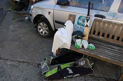 #Kookaburra #cricket kit pads #gloves bag bat , View more on the LINK: http://www.zeppy.io/product/gb/2/201647510965/