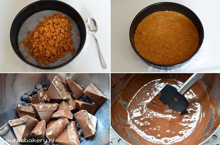 Toblerone cheesecake - Laura's Bakery
