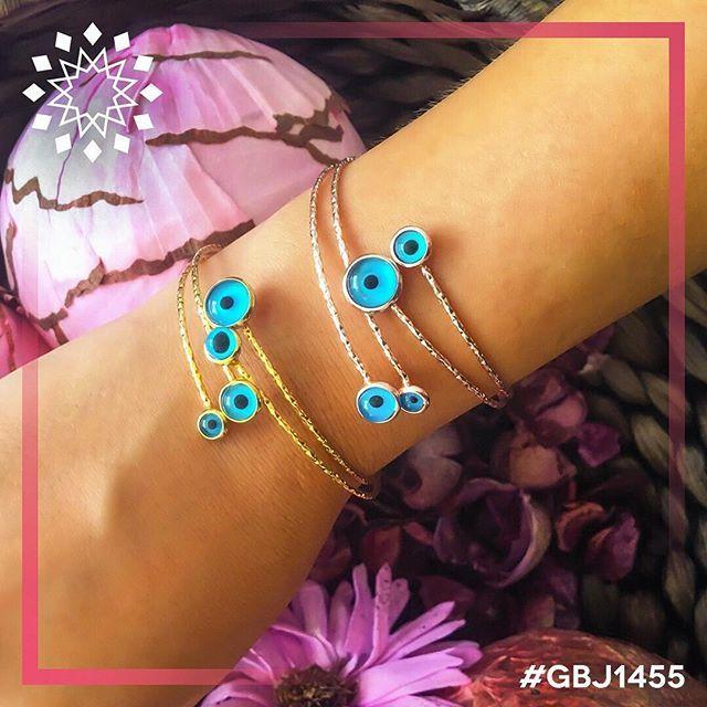 #Friyay!! 💃🏼 #evileye #fashion #jewelry #bijou #bracelets #modern #design…