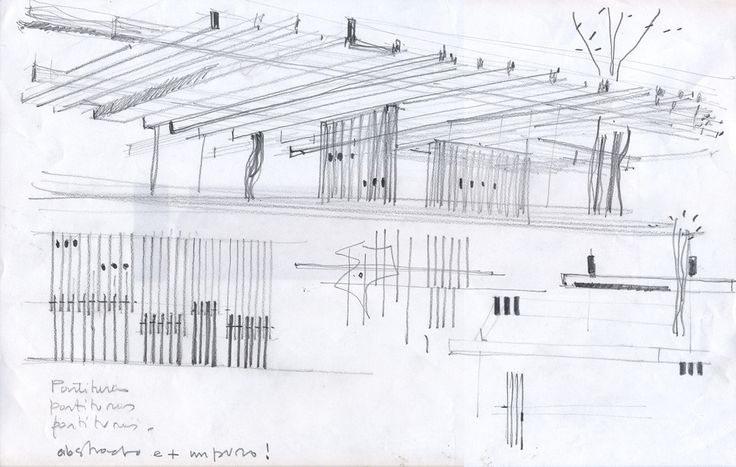 Pabellones de Granja,Cortesia de Bertolino Barrado oficina de arquitectura