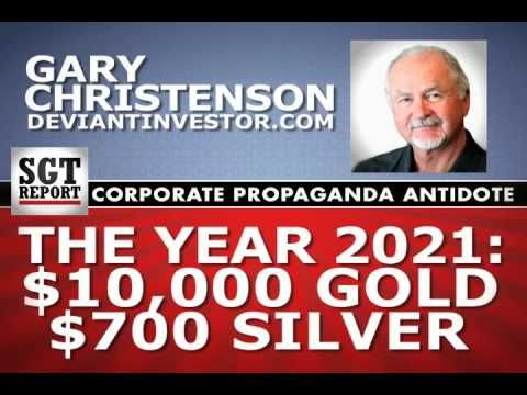 Deviant Investor 's Gary Christenson joins me to discuss his new book 'Gold Value and Gold Prices From 1971 - 2021'. Gary's empirical model projects a Gold price of $10,000 by the year 2021 and a Silver price any where from $500 - $1,000.