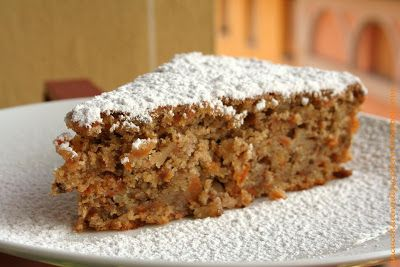 un cucchiaino di zucchero: TORTA CAROTE E NOCI (cook in ...