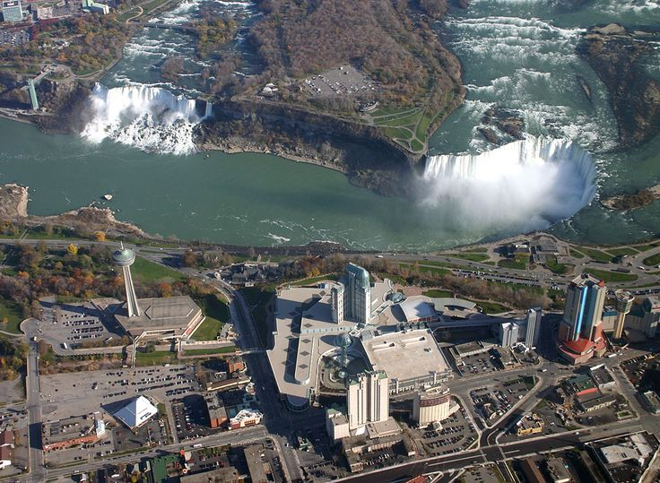 I want to go see the seven wonders of the world one day!Baggage Claim, Niagra Case, Favorite Places, Niagara Falls, Aerial Overview, Fall Down, New York, Aerial View, United States