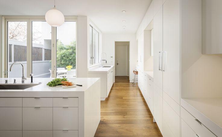 Kitchen & Hallway - Sutro Architects