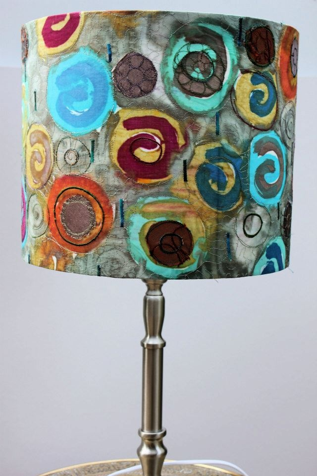 20 Best Images About Painted Lampshades On Pinterest