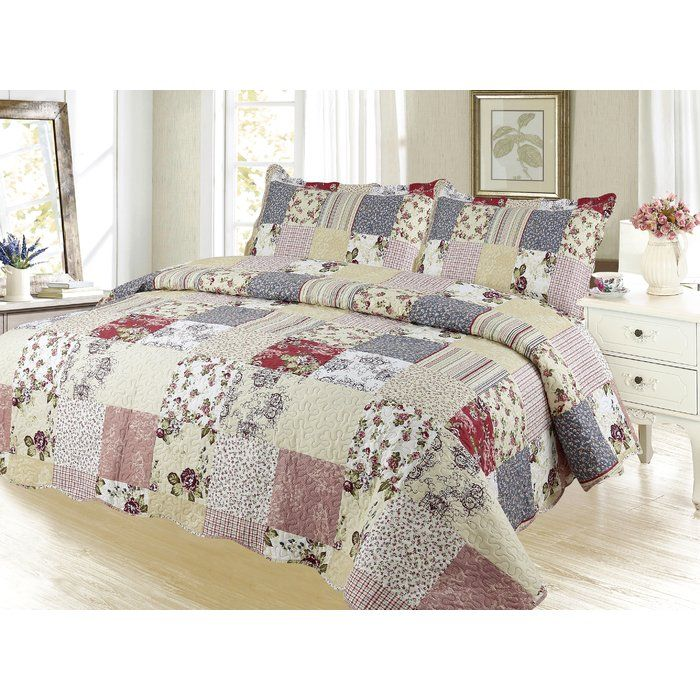 The new Pinsonic Quilt Set by dream bedding, enhances and decorates any bedroom.This Quilt is one of its kind quilt set features beautiful designs. The unique designs and combinations add more worth-buy to the bedding set. This quilt set is crafted from specially contrived micro-tech polyester making it enormously relaxable and easy to care for.