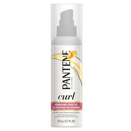 Pantene Curl Perfection Scrunching Spray Gel