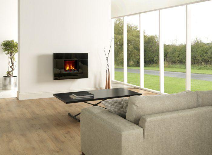 Die besten 25+ Moderne elektrische kamine Ideen auf Pinterest - heizkorper modern wohnzimmer