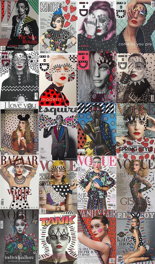 Ana Strumpf Re.Cover art series