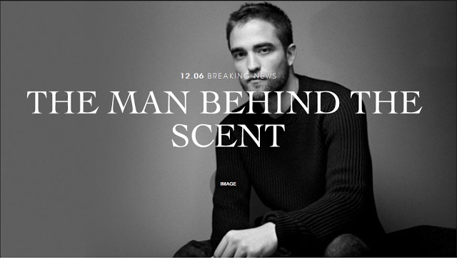 Robsten Dreams: Rob Confirmed the New Face of Dior Homme + First Look at the Ad + Press Conference/After Party Details
