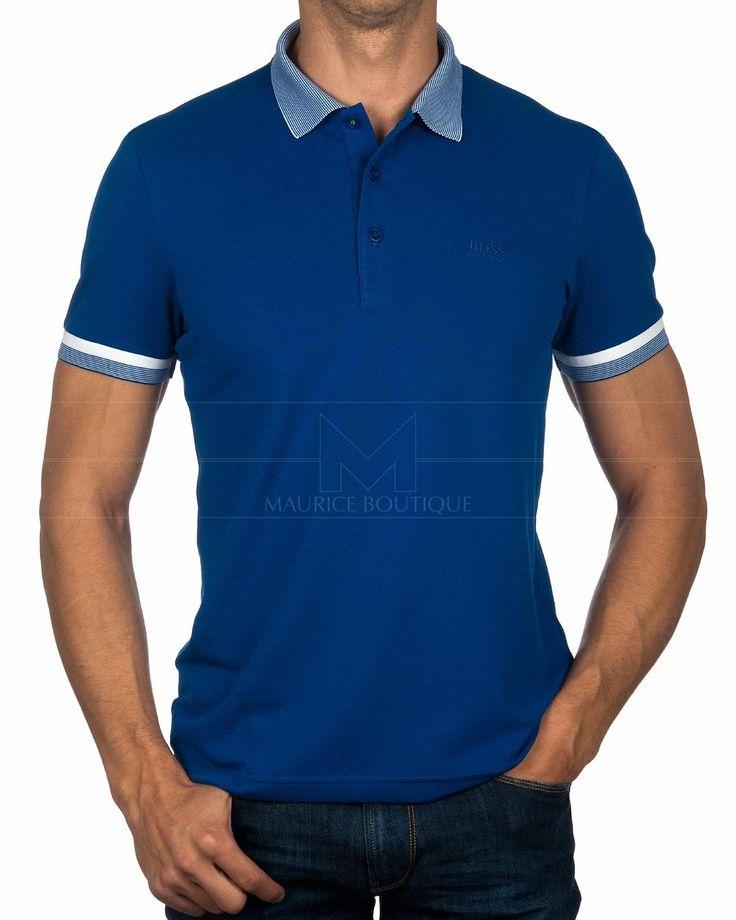 Polo HUGO BOSS ® Paule - Azul | ENVIO GRATIS