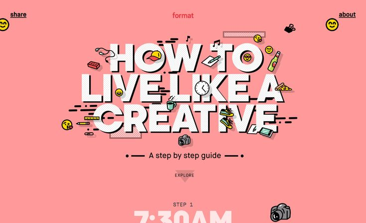 How to Live Like a Creative