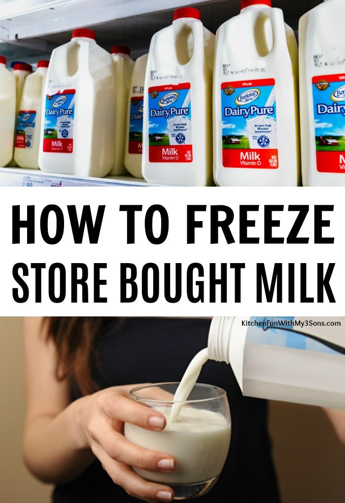 This Is How You Freeze A Gallon Of Milk Buy Milk Frozen Milk