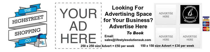 IN BUSINESS ? Looking for Cost Effective Online Advertising - take a look at our advertising board and share in the promotion and website traffic brought to you be the High Street Shopping Company