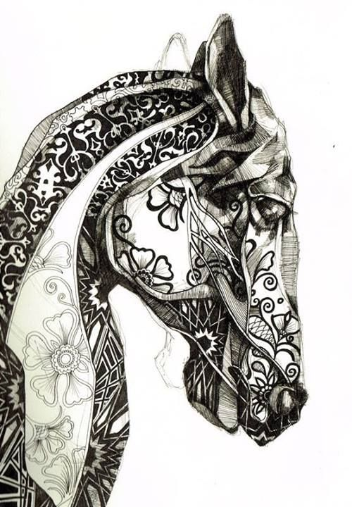 270 best images about Zentangle animals on Pinterest