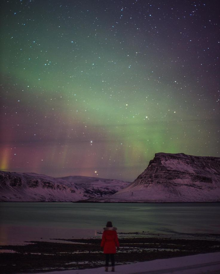 Gal Meets Glam in Iceland, Northern Lights