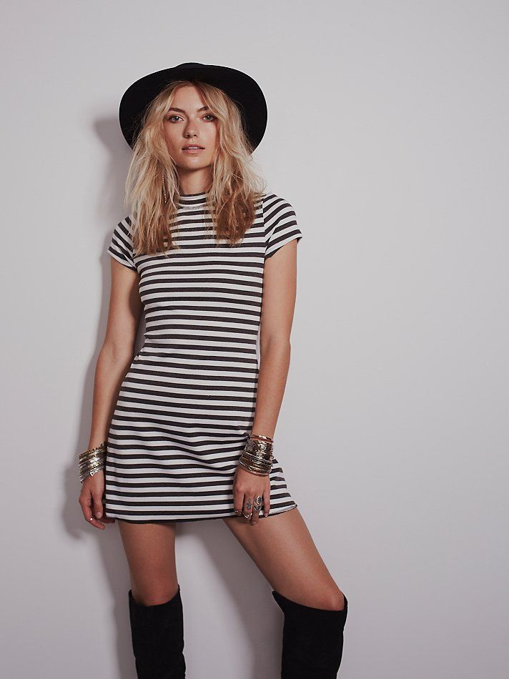 Free People On the Line Ponte Dress, $78.00