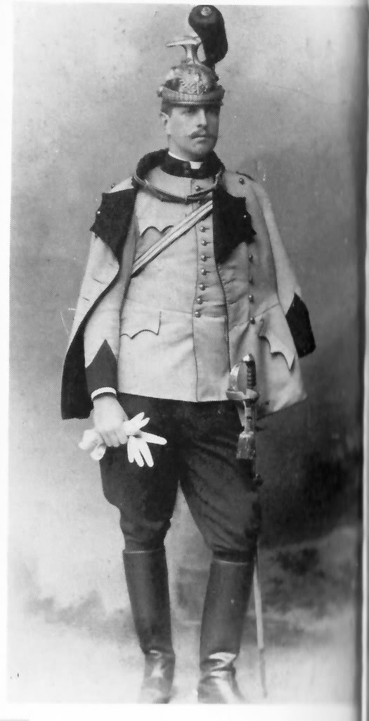 His Imperial Highness Pedro de Alcântara, Prince of Grão-Pará (1875-1940). Now this is a good looking prince!