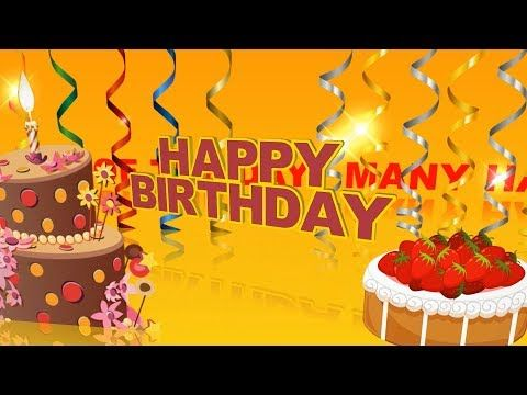 Happy Birthday Wishes For Best Friend Greetings Animation Video SMS Ecards Free