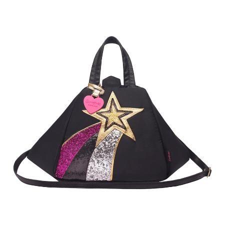cartera bandolera fancy glam color black - EXCLUSIVO $ 2730.0