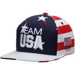 f7e9b478adb Youth Navy Team USA Stars   Stripes Snapback Adjustable Hat