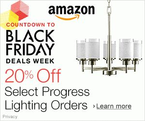 Shop Amazon – $25 Gift Card with $100 Progress Lighting purchase - See more at: http://justgetideas.com/top-12-amazon-best-deals-black-friday-festival-season/#sthash.71MPFXVp.cNHoP0Z7.dpuf