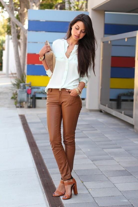 Camisa + calça de couro = temcomonãoamar?!
