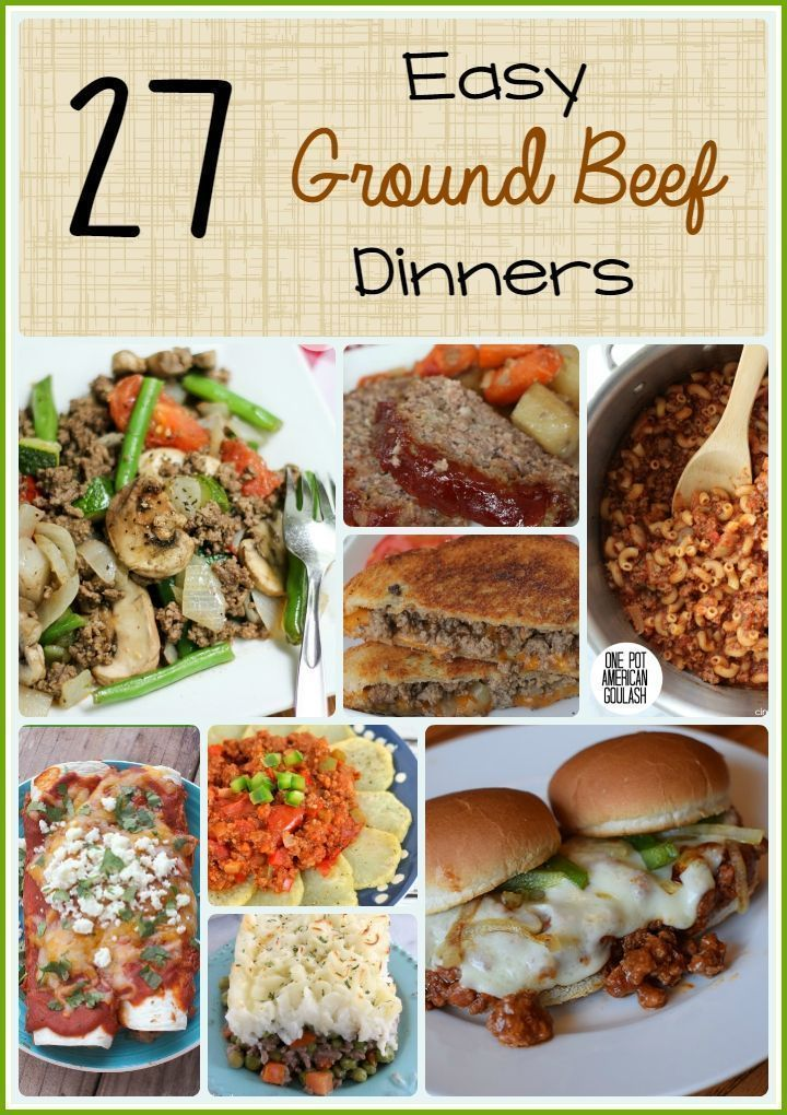 2454 best images about mouthwatering hamburger recipes on Easy dinner recipes for family of 6