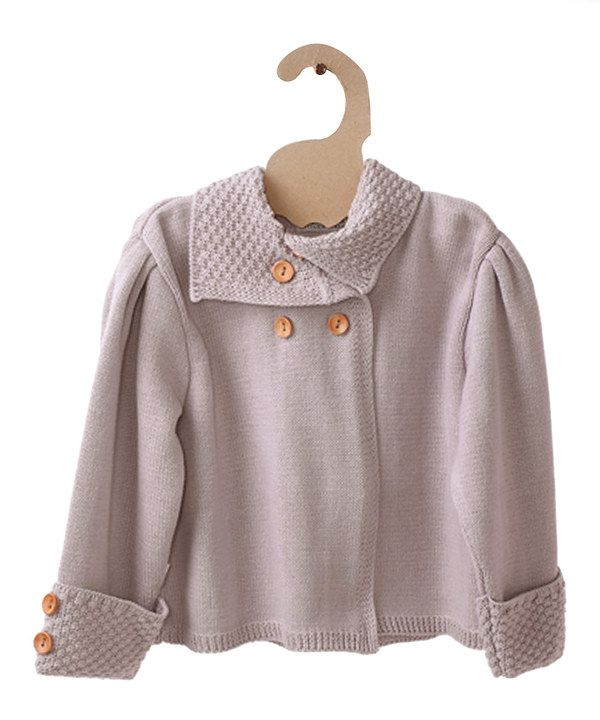 Take a look at this Mole - Little Norway Old Rose Pearl Organic Jacket - Infant, Toddler & Girls on zulily today!