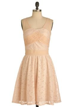 Pink Lace Dress: Bridesmaid Dresses, Pale Pink, Retro Vintage Dresses, Modcloth 54 99, Modcloth Com, Pink Posies