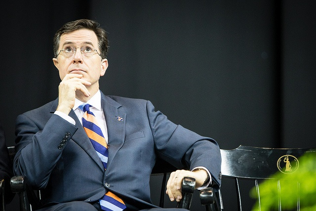 Stephen Colbert at the University of Virginia's 2013 Valedictory Exercises.