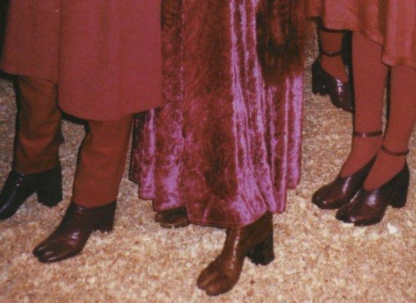 Margiela Tabi boots AW 1996