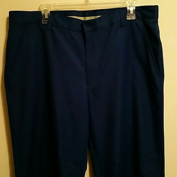 Like New Izod Golf Pants with Tour slits! Never worn before! They have the tour slits that fit perfect over golf shoes! Down sizing due to move! IZOD Pants Trousers