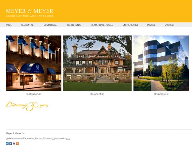 Meyer Is An Award Architectural And Interior Design Firm Based In Boston Bartlett