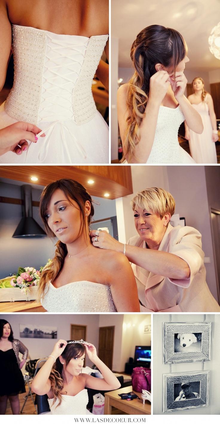 préparatifs - Mariage Neigeux au chateau de Montrouge | Wedding & Portrait Photographer Lyon France | Burgundy, Morocco, Noumea | Tel: +33 (0)9 51 82 92 05