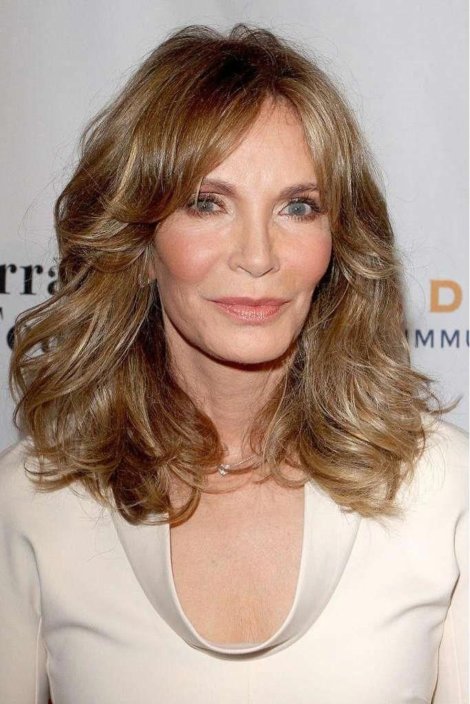 The Best Hairstyles For Women Over 60 Layered Mid Length With