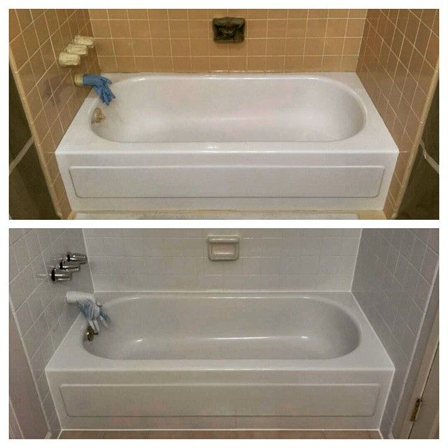 Refinishing Your Dated Surround Is An Easy Way To Cut Costs On A Remodel Or  Capture. BathtubSeattleFelt