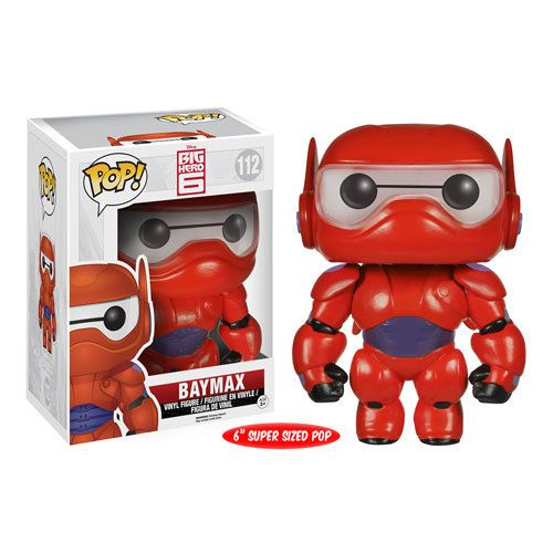 Baymax is here and ready for battle. This armored version of Baymax from Big Hero 6 stands approximately 6 inches tall - larger than the standard 3.75 inch figures in Funko's Pop! Vinyl series. He comes in a collectible window display box. Don't worry, he'll protect you! #nesteduniverse