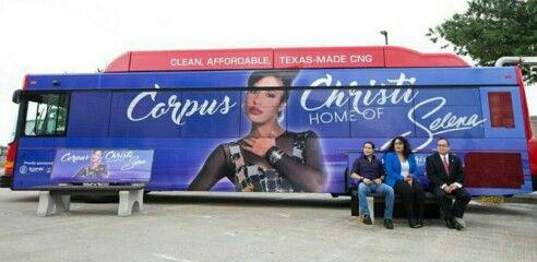 Selena bus in Corpus 2016