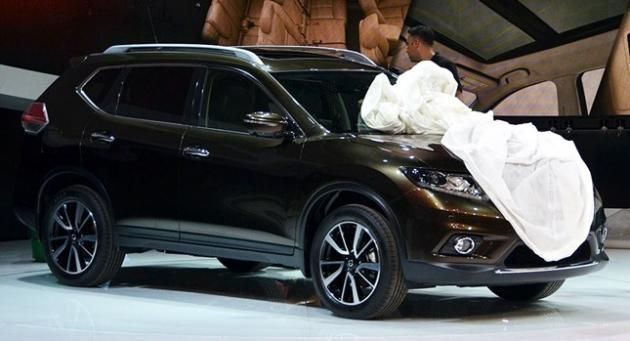 New 2014 Nissan X-Trail and Rogue 7-Seater SUV
