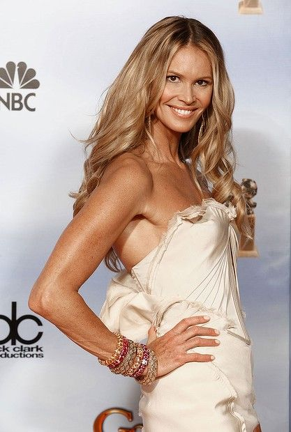 #ElleMacpherson in the press room during the 69th Annual Golden Globe Awards held at the Beverly Hilton Hotel on January 15, 2012.