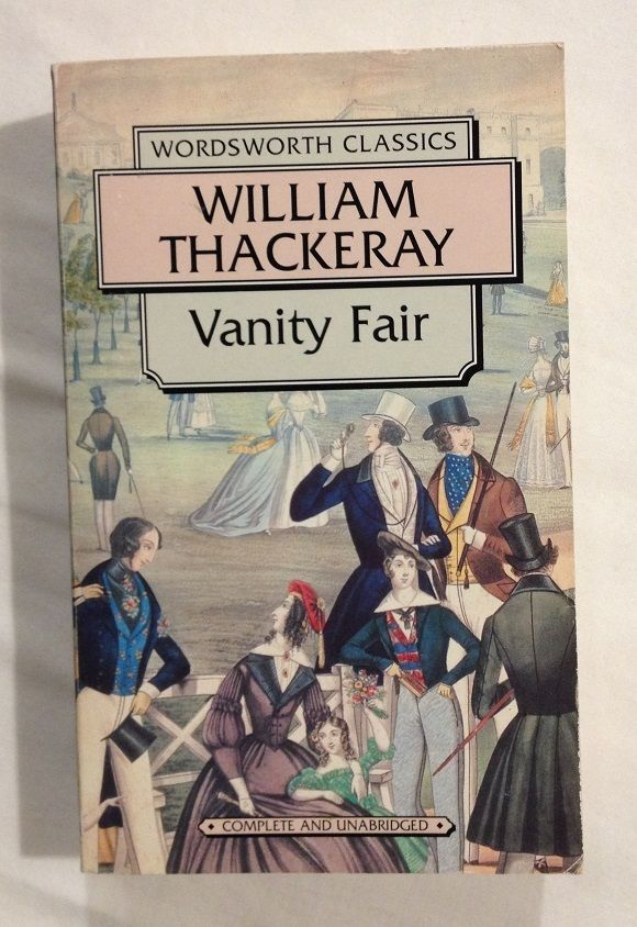 book review vanity fair william thackeray Buy vanity fair by william makepeace thackeray (isbn: 9781539772750) from amazon's book store everyday low prices and free delivery on eligible orders.