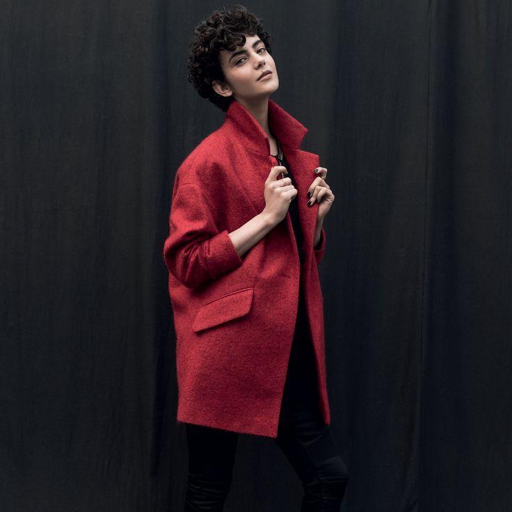 Manteau pas cher : un manteau Tex