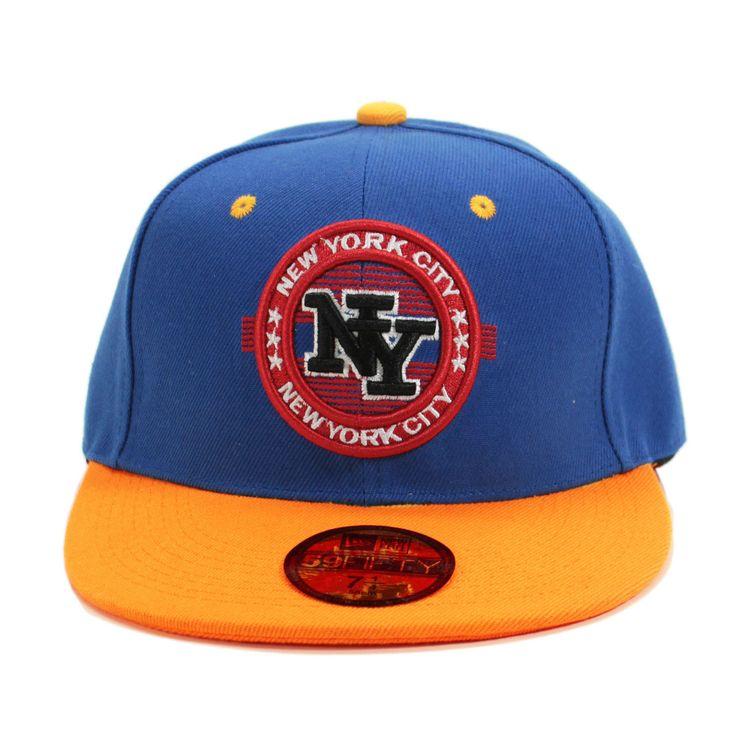 NY New York City Patch Snapback 59/50 Baseball Cap