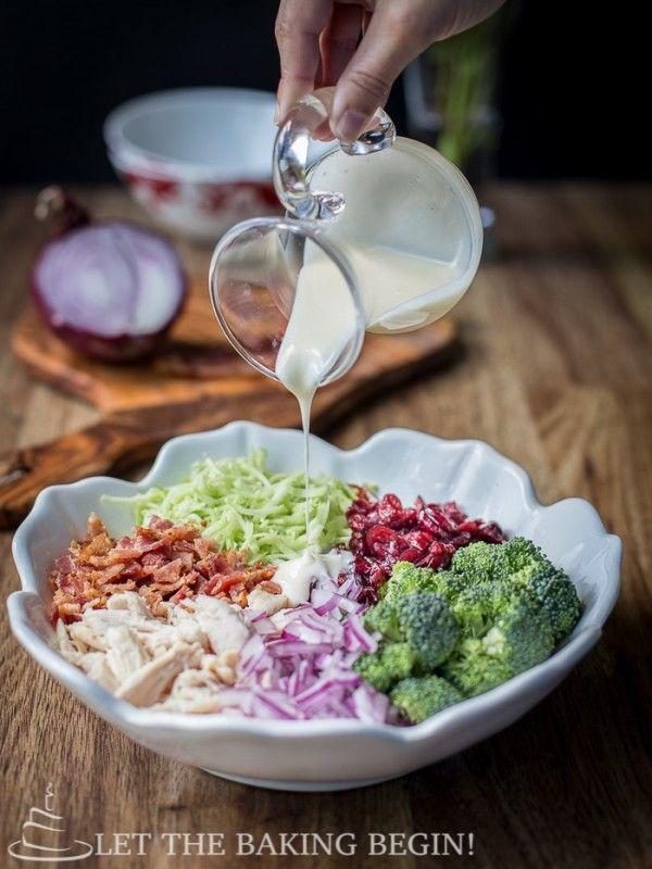 Broccoli Chicken Salad – Let the Baking Begin!