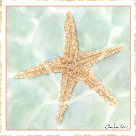 @rosenberryrooms is offering $20 OFF your purchase! Share the news and save!  Ocean Starfish Canvas Reproduction #rosenberryrooms