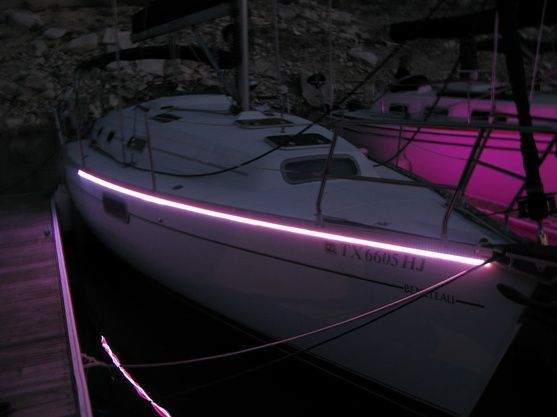 Customize your boat with led lighting supernova fishing for Fishing lights for boats