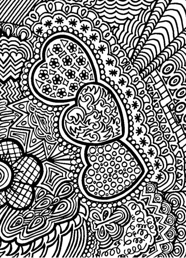 Hearts Coloring Pages For Adults Best Coloring Pages For Kids Abstract Coloring Pages Love Coloring Pages Heart Coloring Pages